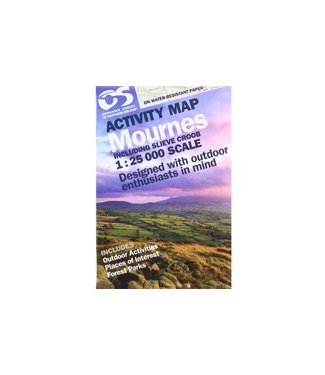 Ordnance Survey OS Activity Map The Mournes 1:25 000 Scale