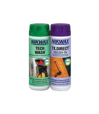 NikWax Nikwax Tech Wash/TX.Direct Wash-In 300ml Combo