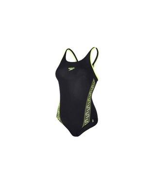 Speedo Speedo Monogram Muscleback Swimsuit