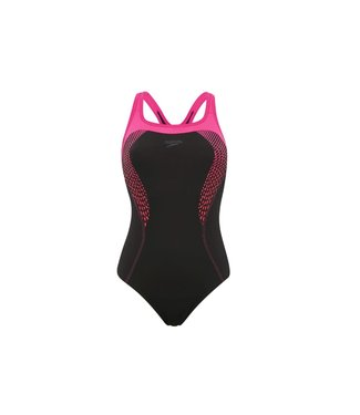 Speedo Speed Fit Kickback Swimsuit GB 16/38