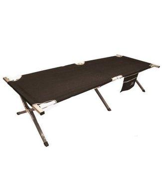 Highlander Highlander Aluminium Camp Bed with Side Pocket