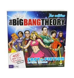 Cardinal Games THE BIG BANG THEORY  Trivia Fact or Fiction Fan Edition (UK)