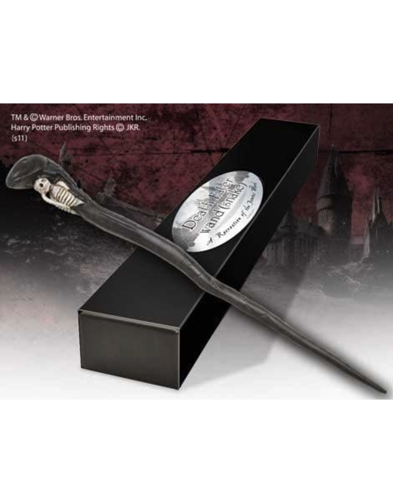 Noble Collection HARRY POTTER Wand - Death Eater Snake