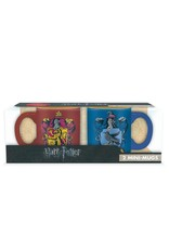 HARRY POTTER 2 Mini-Mugs Set - Gryffindor & Ravenclaw