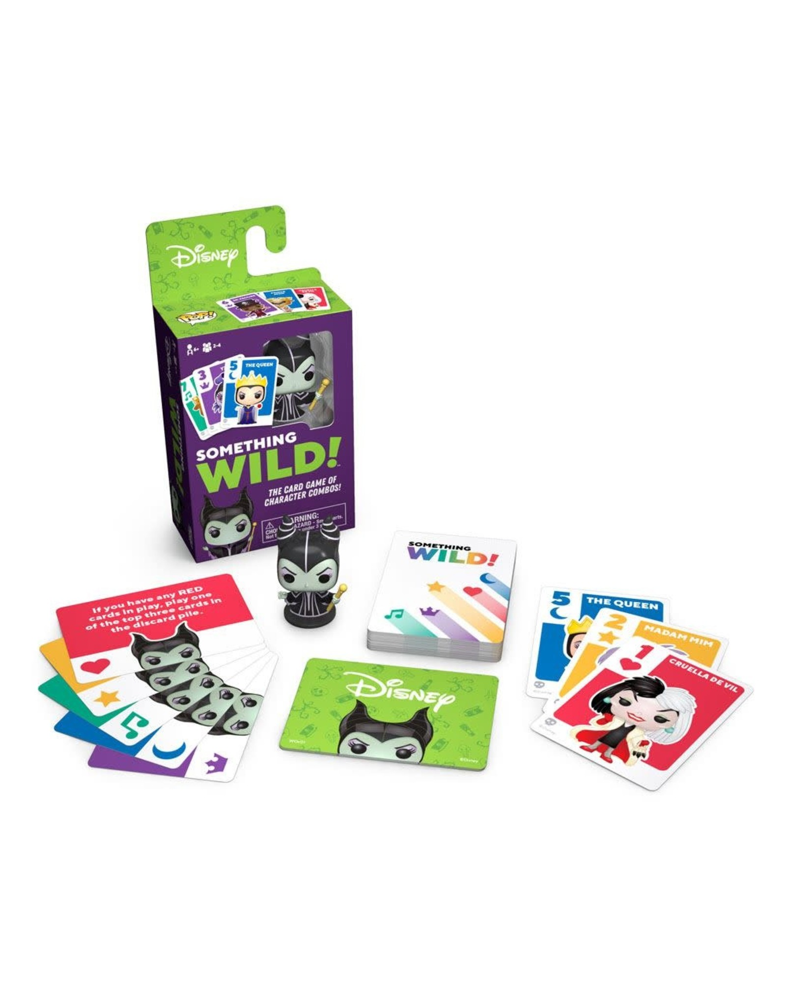 Funko VILLAINS Something Wild Card Game (UK)