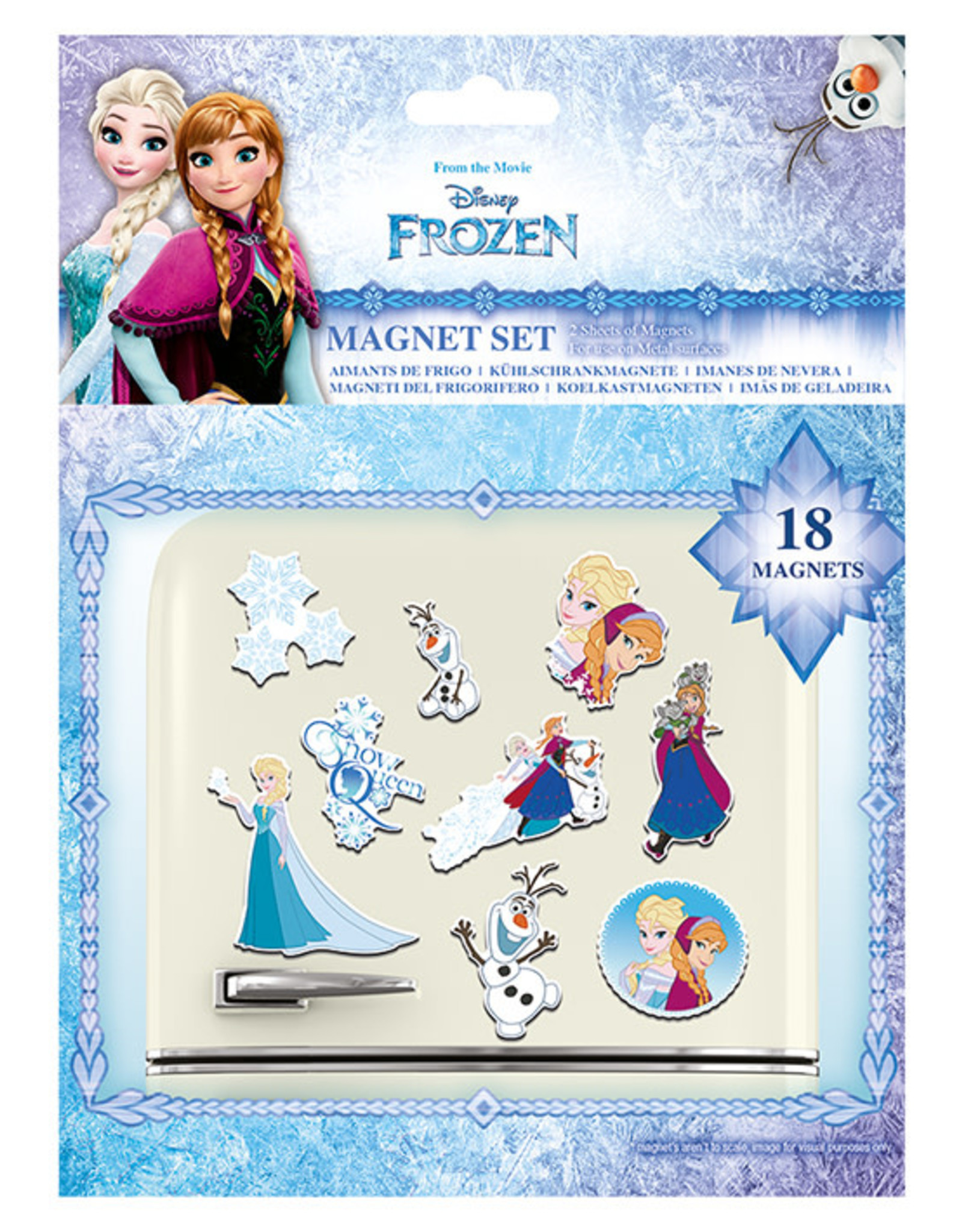 Hole in the Wall FROZEN Magnet Set - Sisters