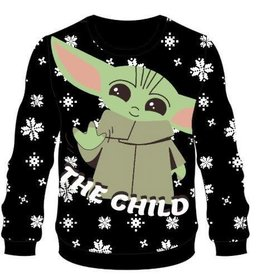 Difuzed STAR WARS The Mandalorian Knitted Christmas Sweater The Child