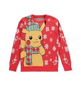 Difuzed POKEMON Knitted Christmas Sweater Pikachu