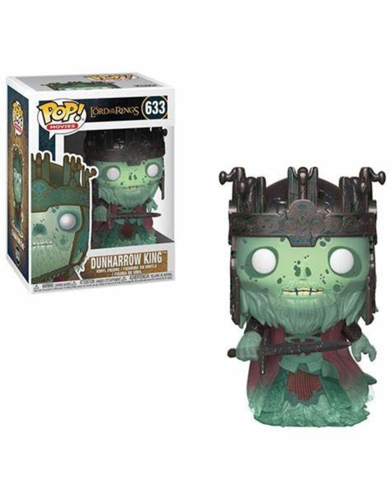 Funko LORD OF THE RINGS POP! N° 633 - Dunharrow King