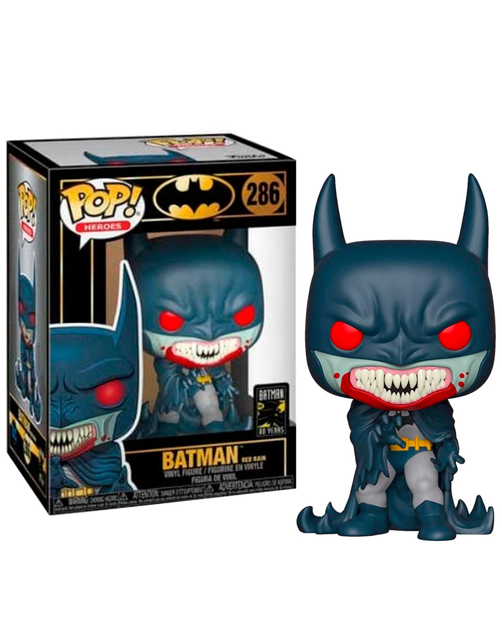 Funko BATMAN 80th POP! N°286 Red Rain Batman (1991)