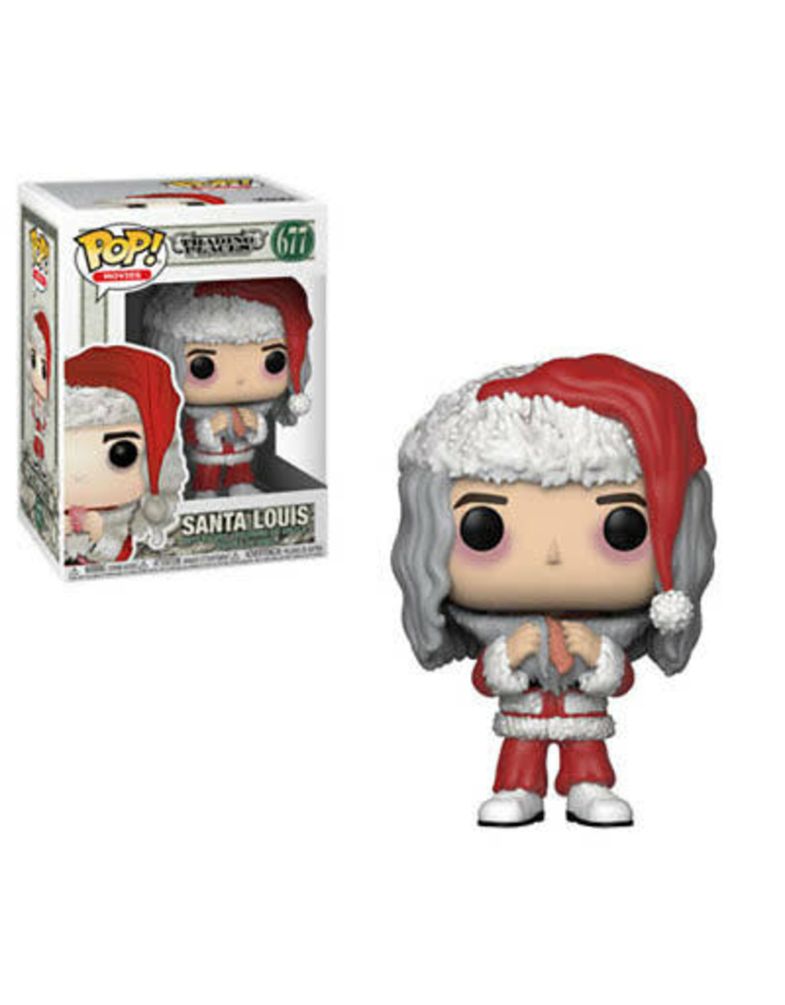 Funko TRADING PLACES POP! Santa Louis 9 cm