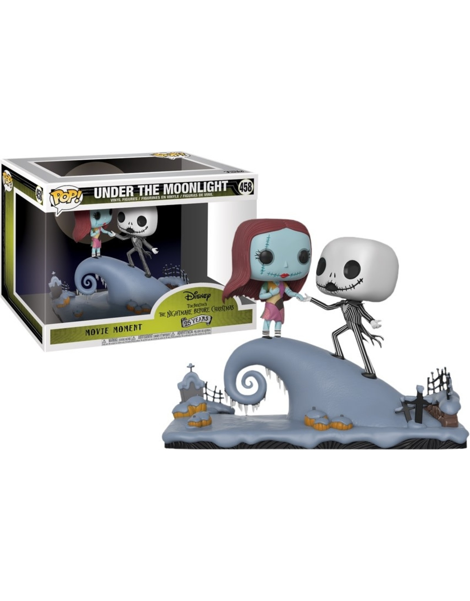 Funko THE NIGHTMARE BEFORE CHRISTMAS POP! Movie Moments N° 458 - Under the Moonlight