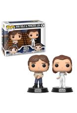 Funko STAR WARS POP! 2 PACK - Han Solo & Princess Leia