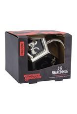 Paladone DUNGEONS & DRAGONS Shaped Mug - D12