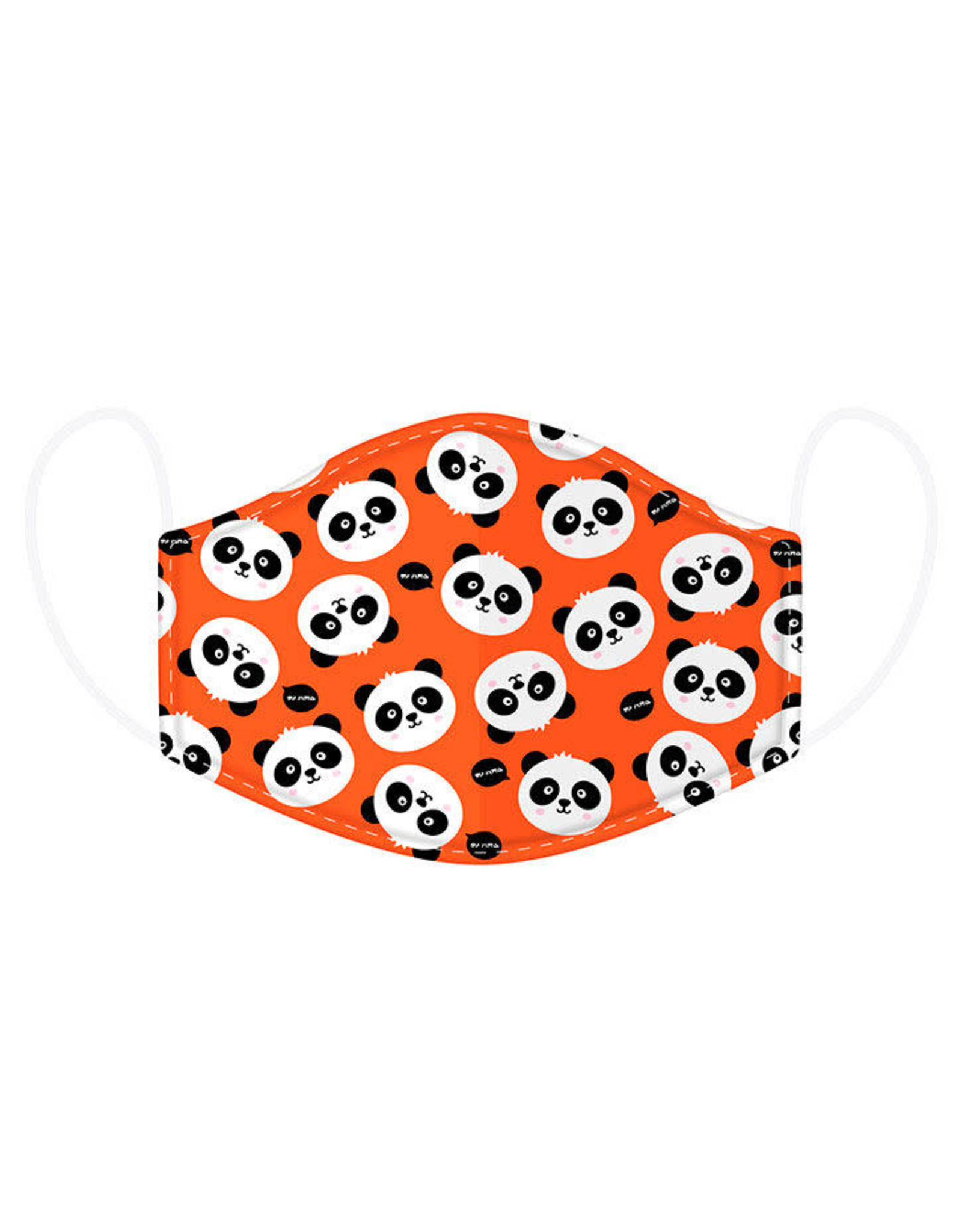 CUTIEMALS Panda Reusable Face Mask Cover Small