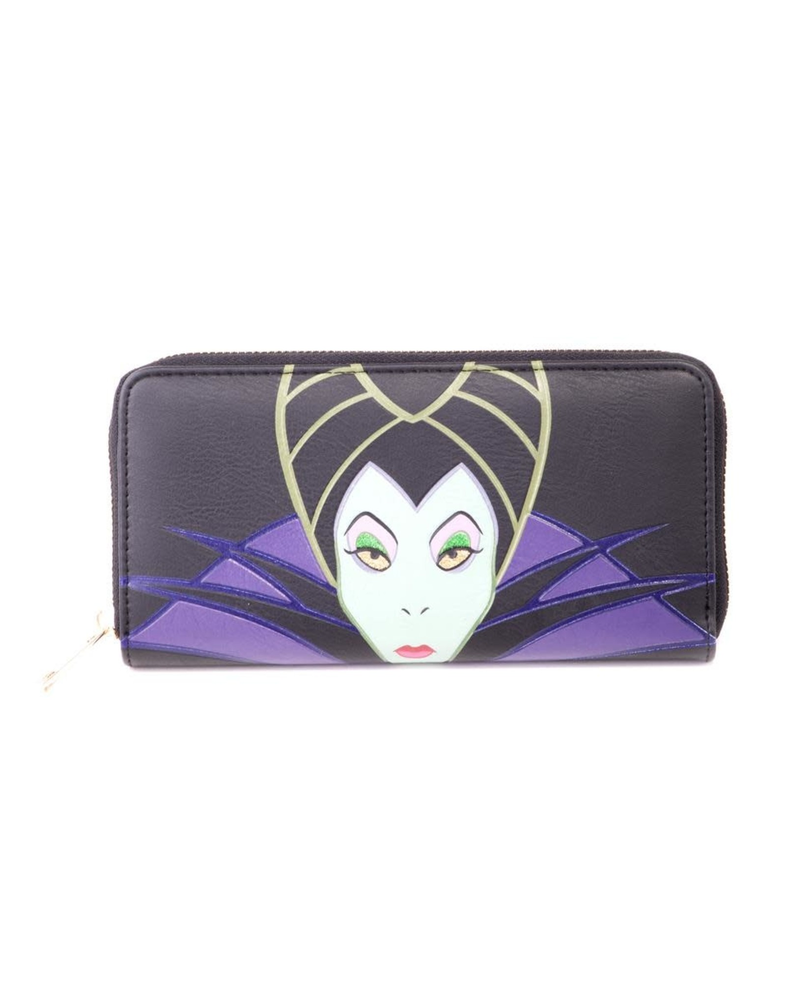 Difuzed MALEFICENT 2 Ladies Zip Around Wallet