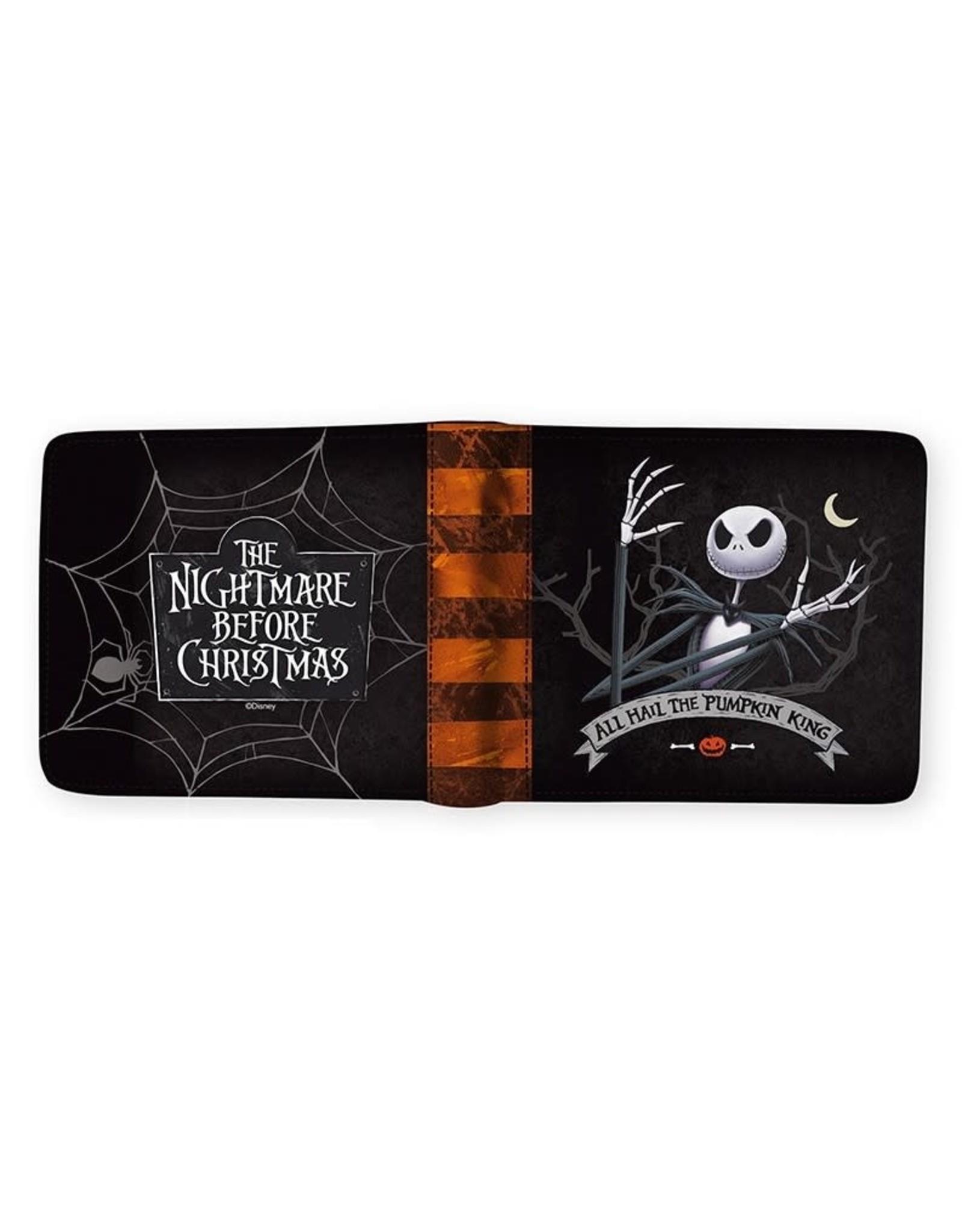 THE NIGHTMARE BEFORE CHRISTMAS Vinyl Wallet - Jack