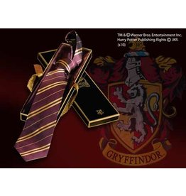 HARRY POTTER - House Tie 100% Silk - Gryffindor