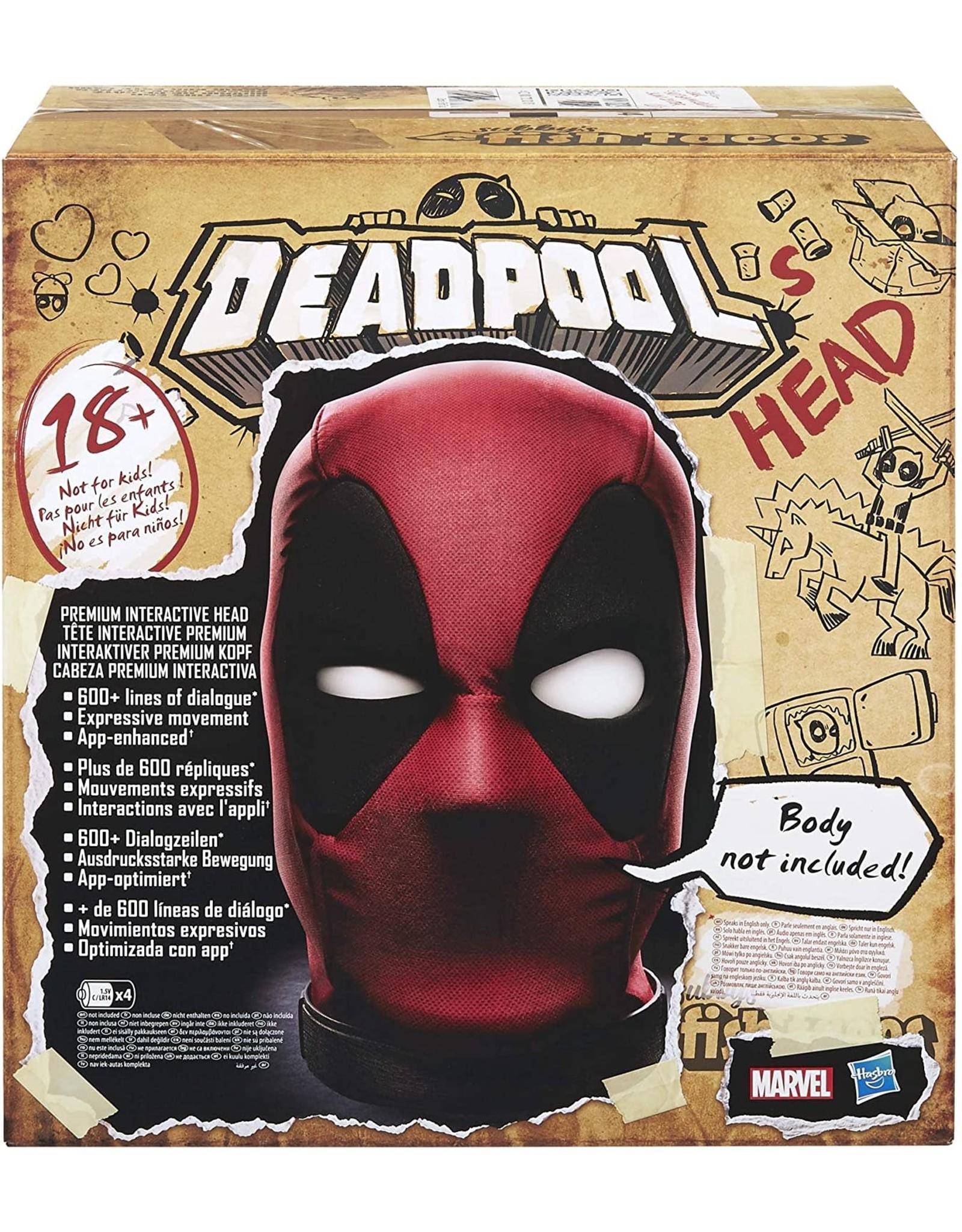 Hasbro DEADPOOL - Premium Interactive Head (UK)