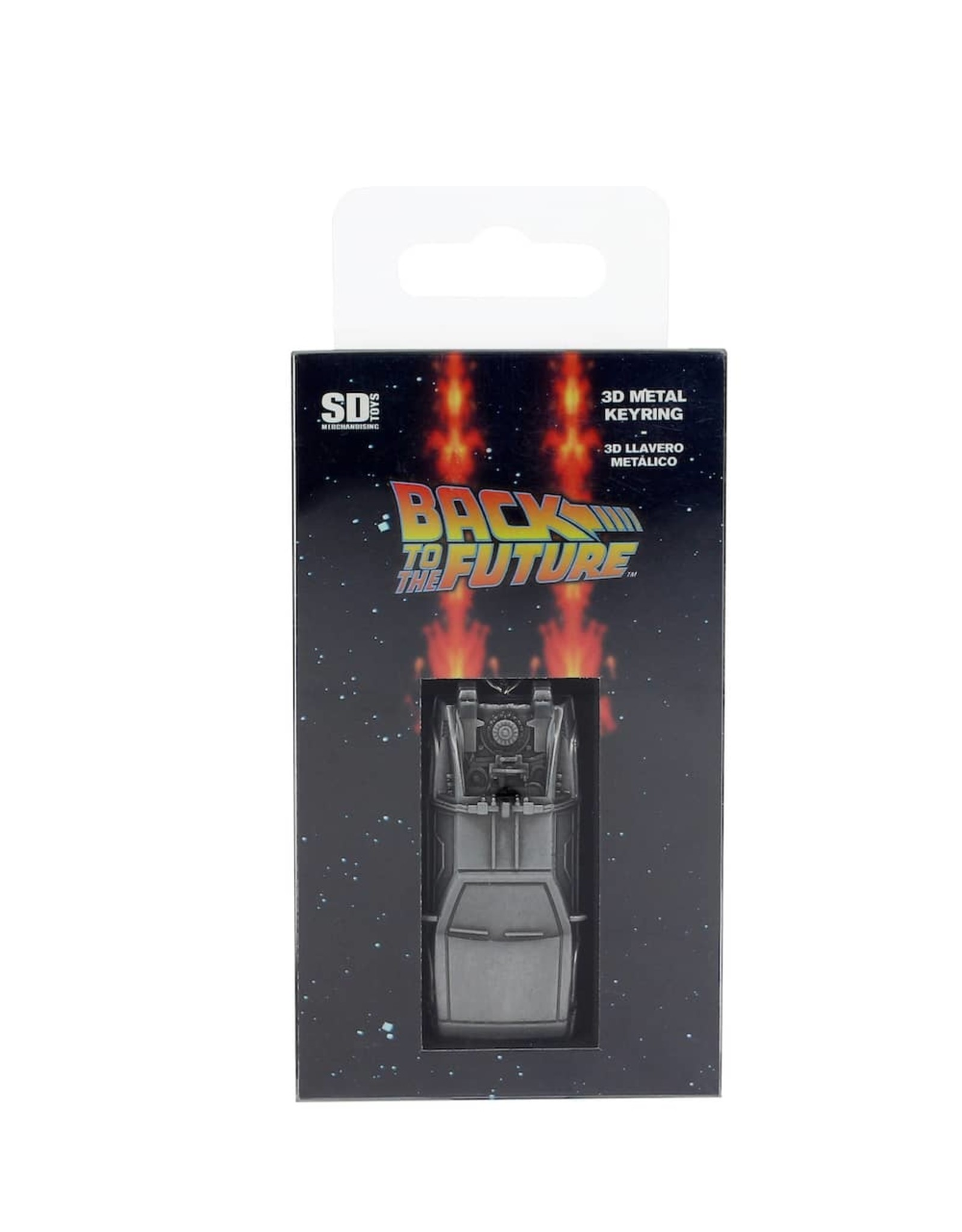 SD Toys BACK TO THE FUTURE 3D Metal Keychain - Delorean