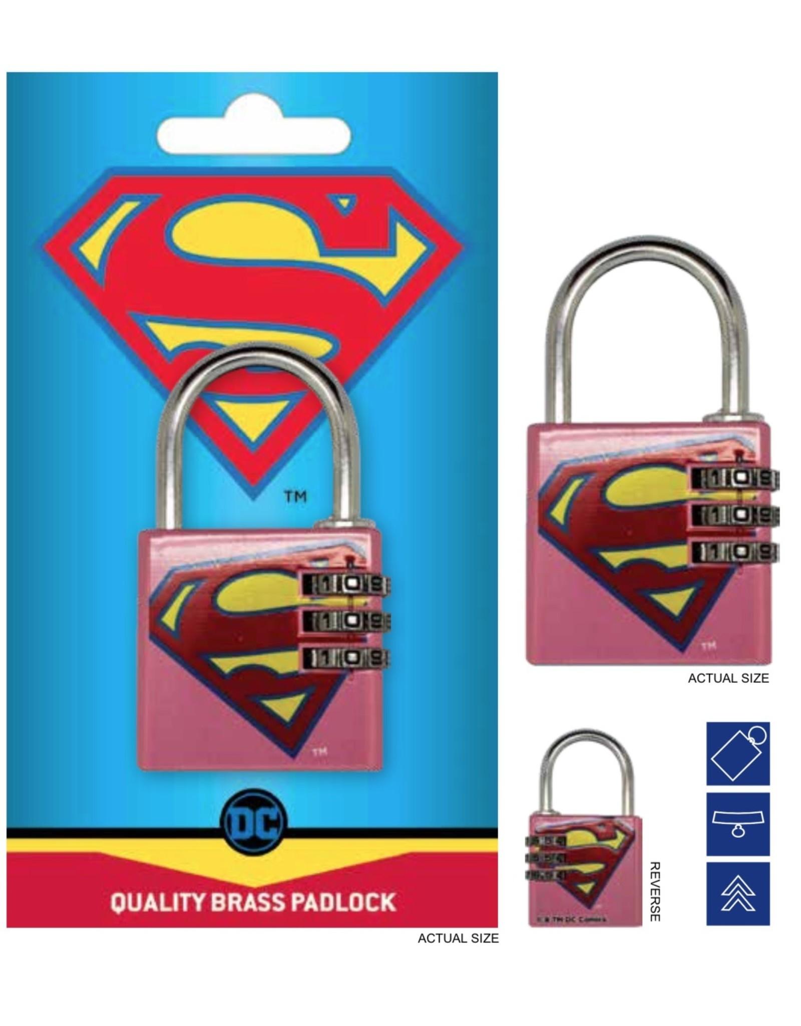 DC COMICS - Brass Padlock - Supergirl