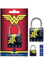 DC COMICS - Brass Padlock - Wonder Woman