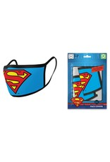 Pyramid International SUPERMAN Premium Face Mask Covers pack of 2