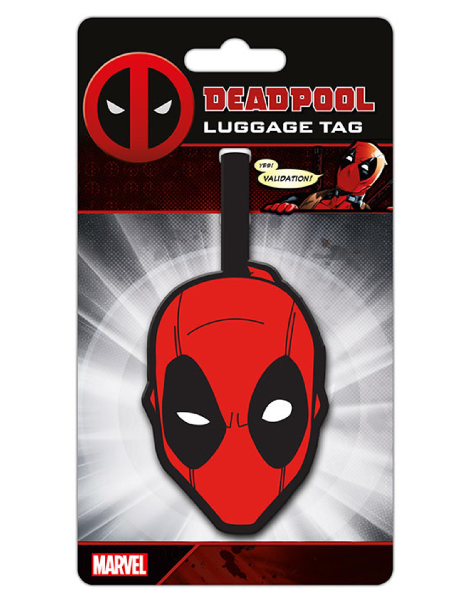 DEADPOOL - Face - Lugage Tag '10x18'