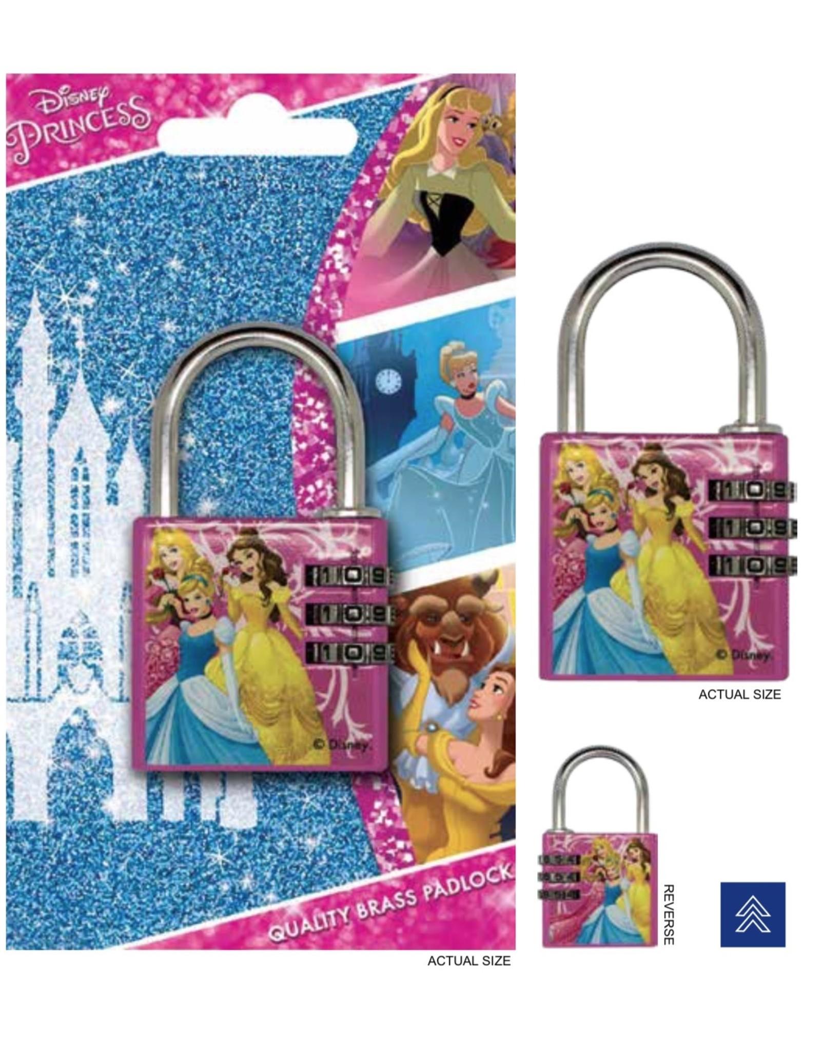 DISNEY - Brass Padlock - Princess
