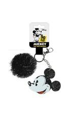 MICKEY MOUSE Keychain with pompom