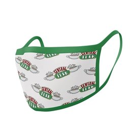 Hole in the Wall FRIENDS Premium Face Mask Covers pack of 2 - Central Perk