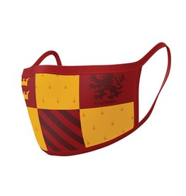 HARRY POTTER Premium Face Mask Covers pack of 2 - Gryffindor