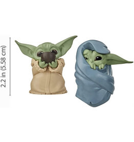 Hasbro STAR WARS Bounty Collection 2-Pack 5.5cm - Mandalorian: The Child Soup & Blanket