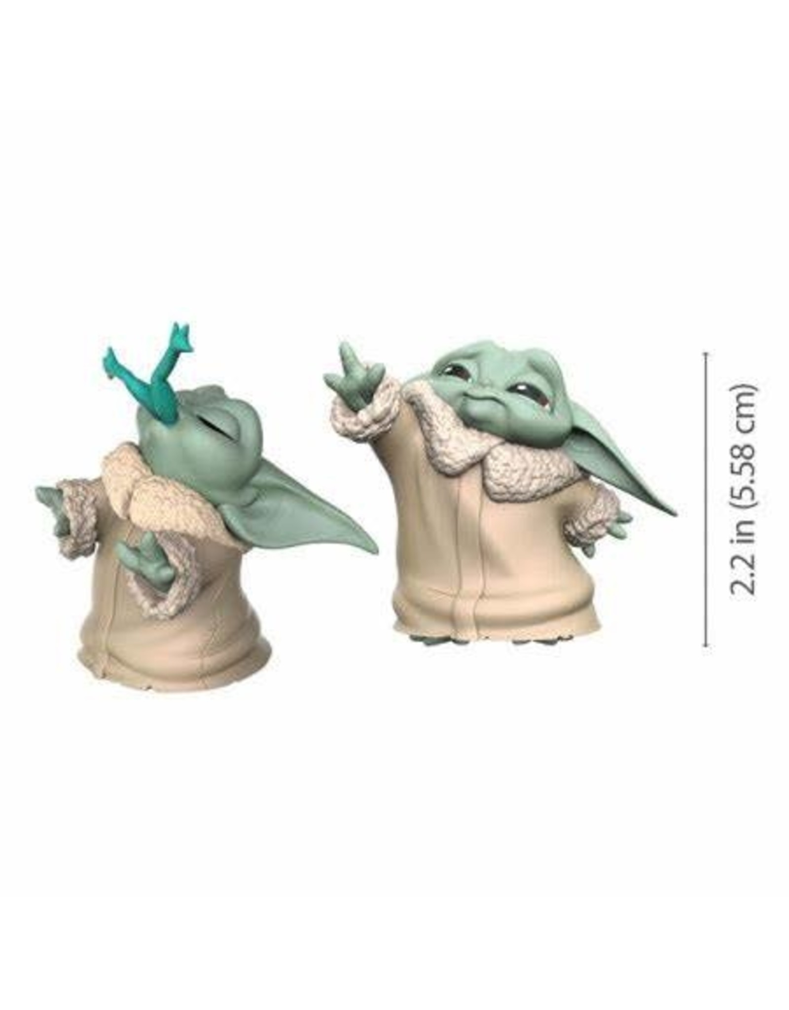 Hasbro STAR WARS Bounty Collection 2-Pack 5.5cm - Mandalorian: The Child Force & Frog