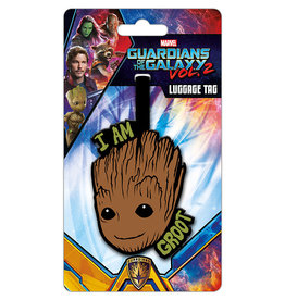GUARDIANS OF THE GALAXY Lugage Tag '10x18' - I am Groot