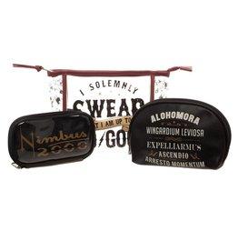 HARRY POTTER - Cosmetic Bag Set - Solemnly Swear Nimbus