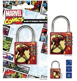 MARVEL - Brass Padlock - Iron Man