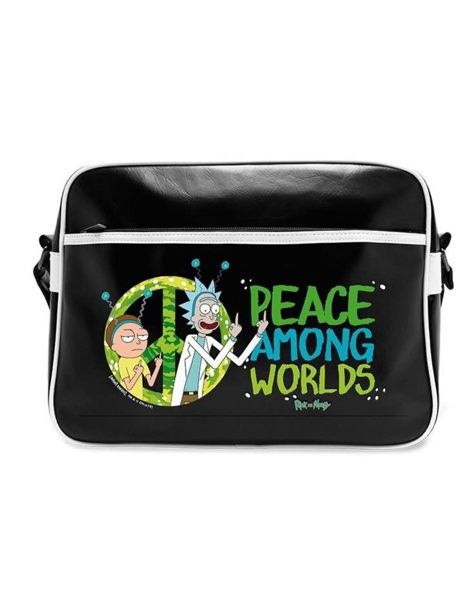 RICK AND MORTY - Messenger Bag Vinyl - Peace
