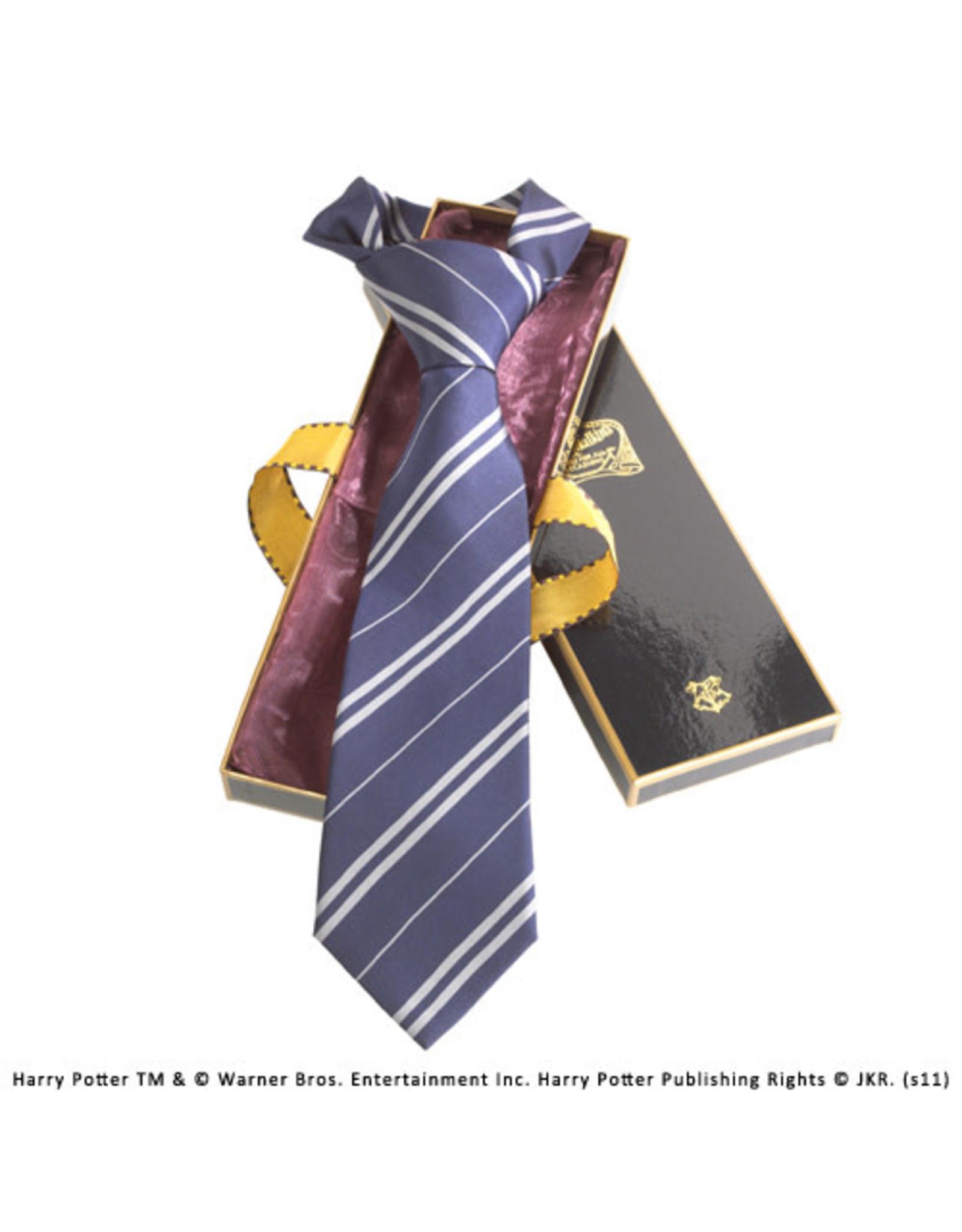 HARRY POTTER House Tie 100% Silk - Ravenclaw