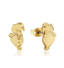 THE LITTLE MERMAID - Studs (earrings) Ursula 'Yellow Gold Plated'