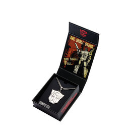 TRANSFORMERS - Stainless Steel Autobot Pendant with Chain