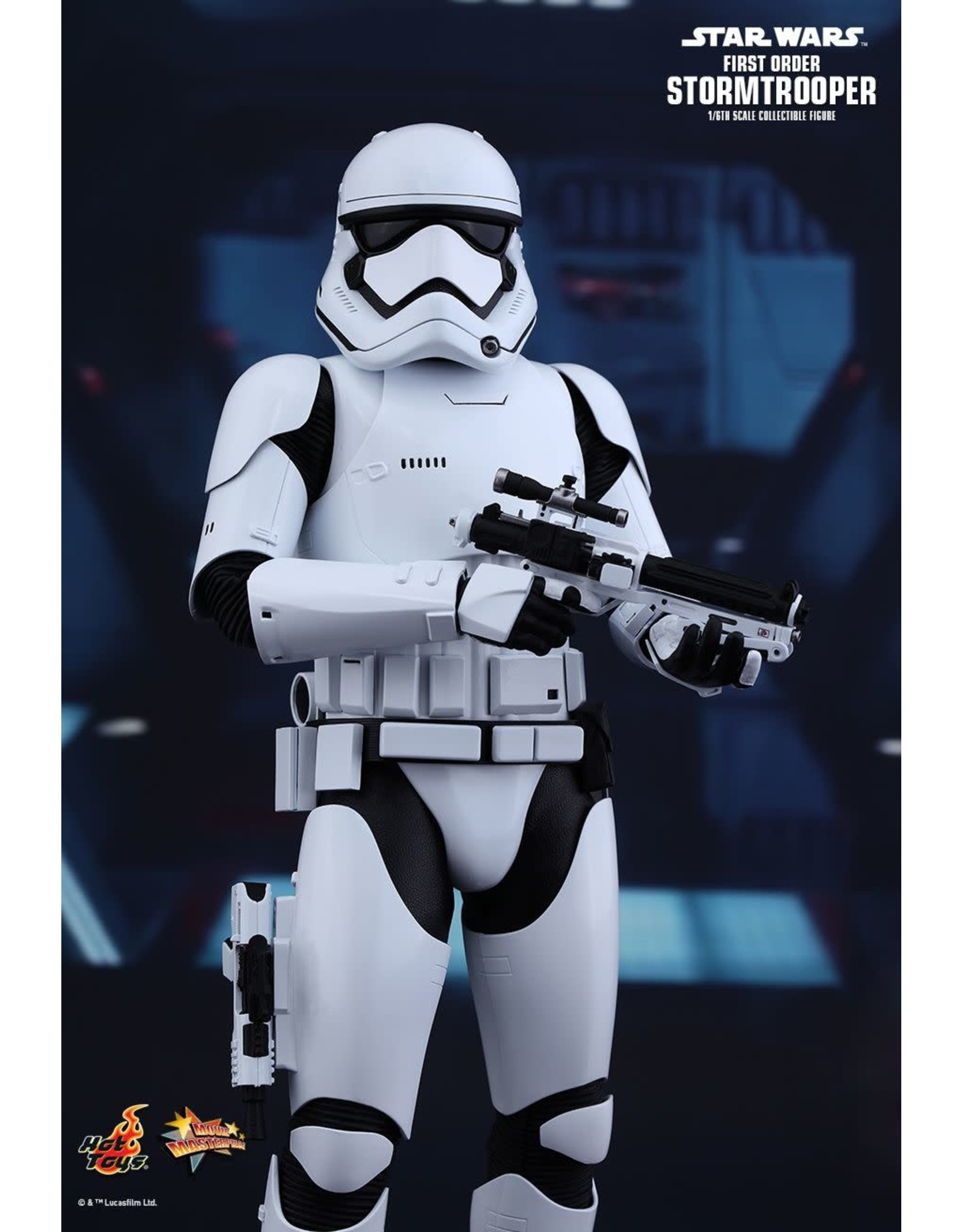 STAR WARS - Set of 2 First Order Stormtrooper 1:6 Scale Figure - PROMO