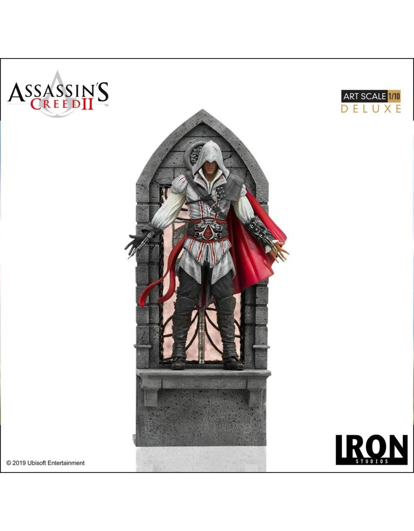 Iron Studios ASSASSIN'S CREED II - Figure 1/10 Art Scale - Ezio Auditore 31cm