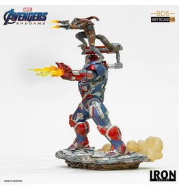 Iron Studios AVENGERS Endgame BDS Art Scale 1/10 28cm - Iron Patriot & Rocket