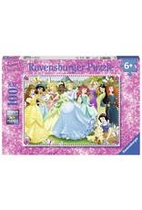 Ravensburger DISNEY Puzzle 100P XXL - Magical Princesses