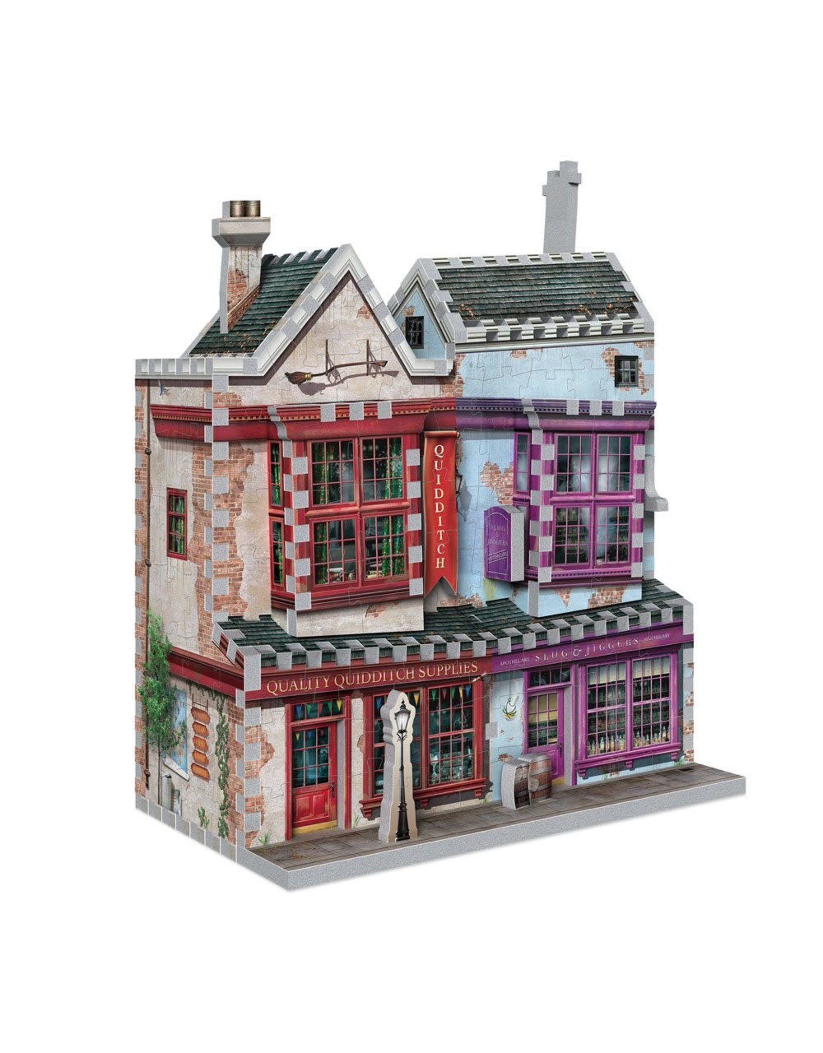 HARRY POTTER 3D Puzzle 305P - Quidditch Shop