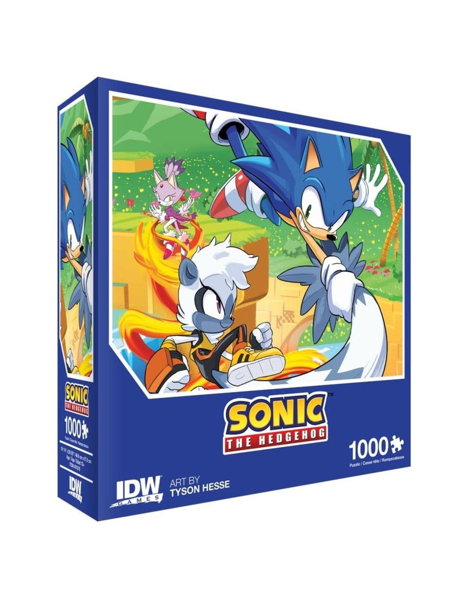 SONIC Puzzle 1000P - Too Slow!