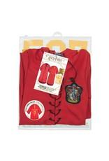 HARRY POTTER Personalised Kids Robe - Gryffindor Quidditch