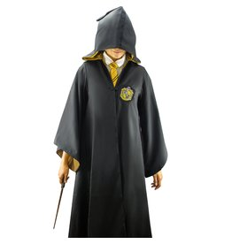 Cinereplicas HARRY POTTER Wizard Robe Cloak - Hufflepuff (S)