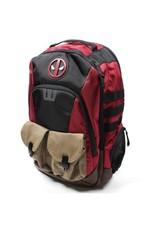 Bioworld DEADPOOL Backpack - Built Up Combat Ready